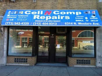 Cell N Comp Repairs Store Front