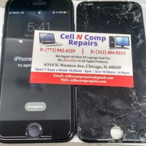 Experience iPhone screen replacement place