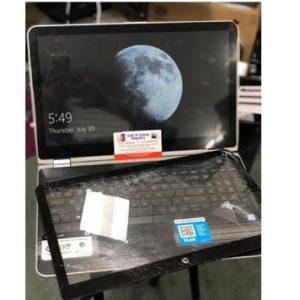 hp laptop screeen replacement