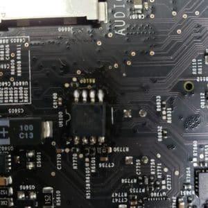 iMac mother board repair